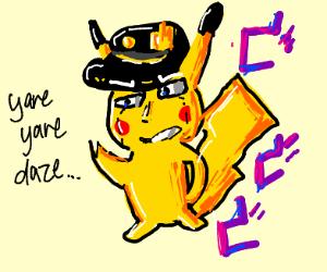jotaro pikachu