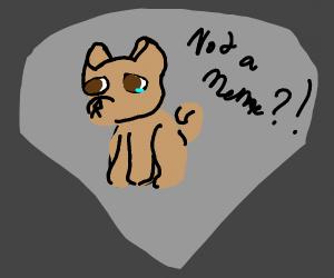 Doggo is sad becuase he is a dead meme