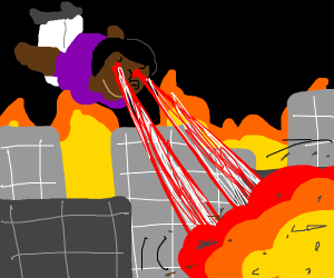 Motifa destroys the city!