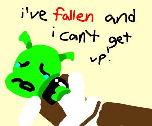 shrek calls life alert