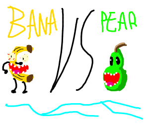 bana vs pear