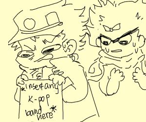 Jotaro hates kpop.