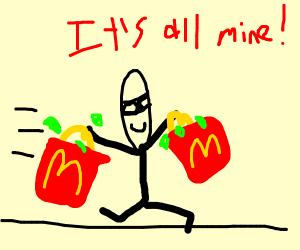 Mcdonalds Thief