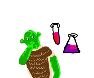 Shrek does science.