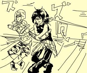 JJBA torture dance