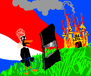 daffy duck in the french revolution
