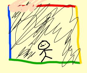 Inside a rubix cube