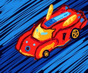 iron man transformer car