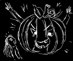Surprise from Pumpkin-head