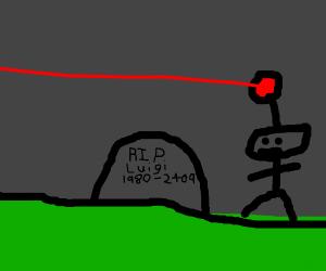 Luigi dies in 2409