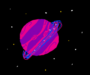 A Saturn like planet