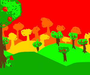 Hills w/ trees