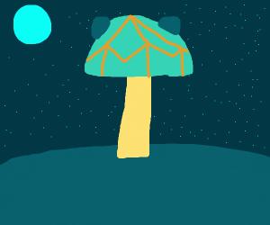 toxic alien mushroom