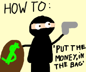 how to rob a bank educational video