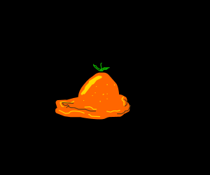 Melted orange