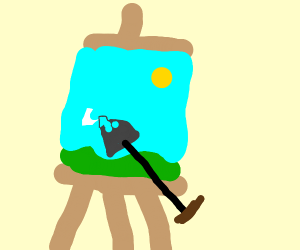 Painting with a Shovel