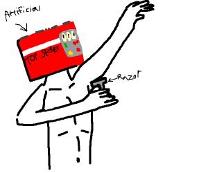 artificial intelligence shaving armpits