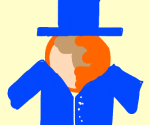 Titan wearing a Coat