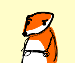 A fox doesn't even know anymore