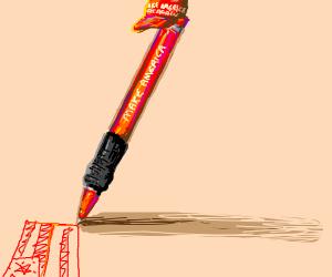 Make america a red pen again