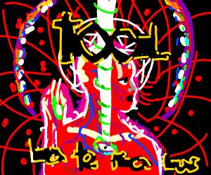 Colorful Human Dude