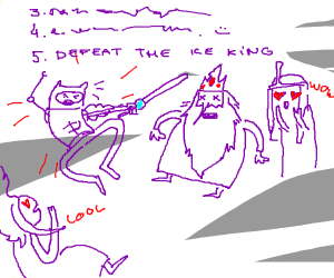 Step Five: Defeat the Ice King