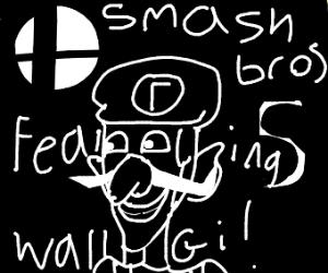 Smosh 5 featuring waluigi