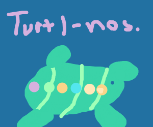 thanos gems turtle