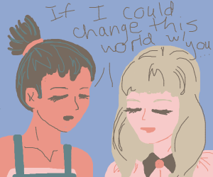 Girls want to change the world