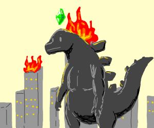 Sims Godzilla