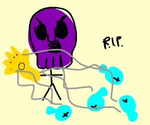 Thanos kills