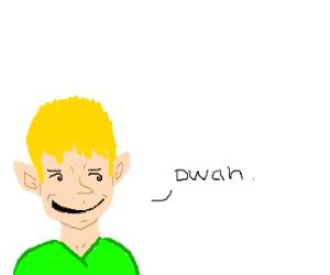 elf says dwah