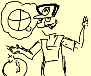 Waluigi yearns to be a fighter in Smash Bros