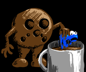 A Cookie Mugging Somebody