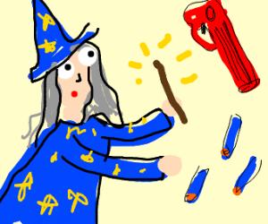 nerf gun wizard