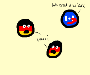 Two German Balls are confused