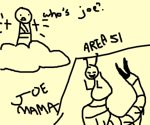 God created Joe as an alien