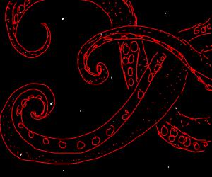 Transparent space Kraken