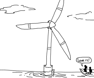 we are big fans of renewable energy