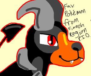 fav Pokémon from Sinnoh region PIO