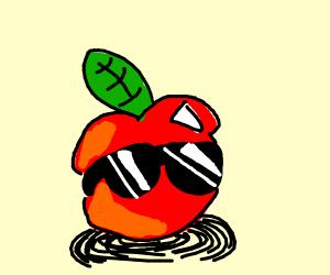 very cool apple