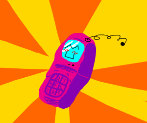 Pink mobile