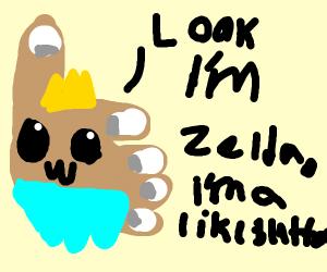 Like posing as Zelda owo