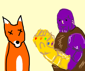 Thanos kills 100 percent of all furries
