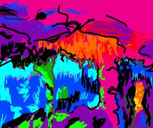 neon cave