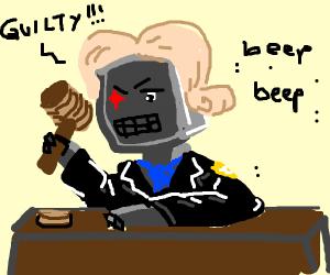 Robocop Judge