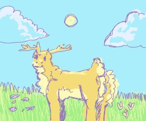 One thicc deer