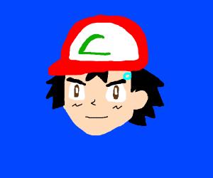 Ash Ketchum as a android