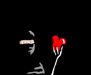 Local man steals a heart- literally