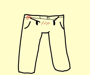 Alive grumpy pants